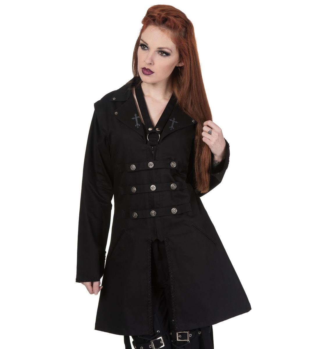 kabát dámský DEAD THREADS - LJ9858