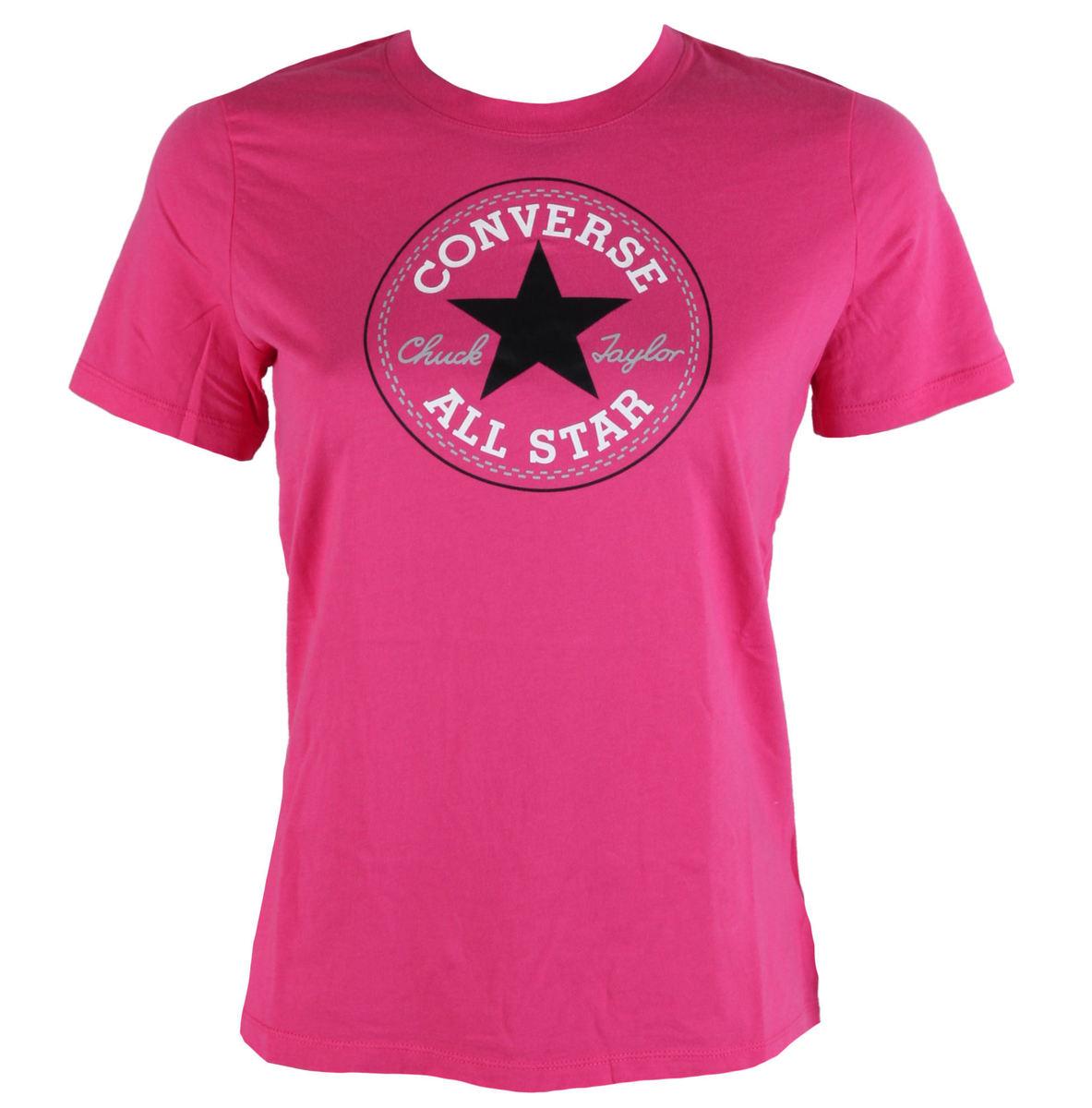 tričko dámské CONVERSE - Core Solid - 10001124-660