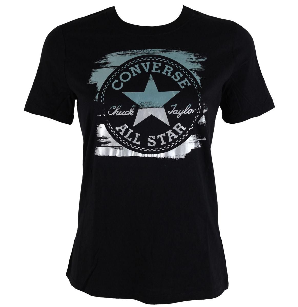 tričko dámské CONVERSE - Metallic - 10001172-001