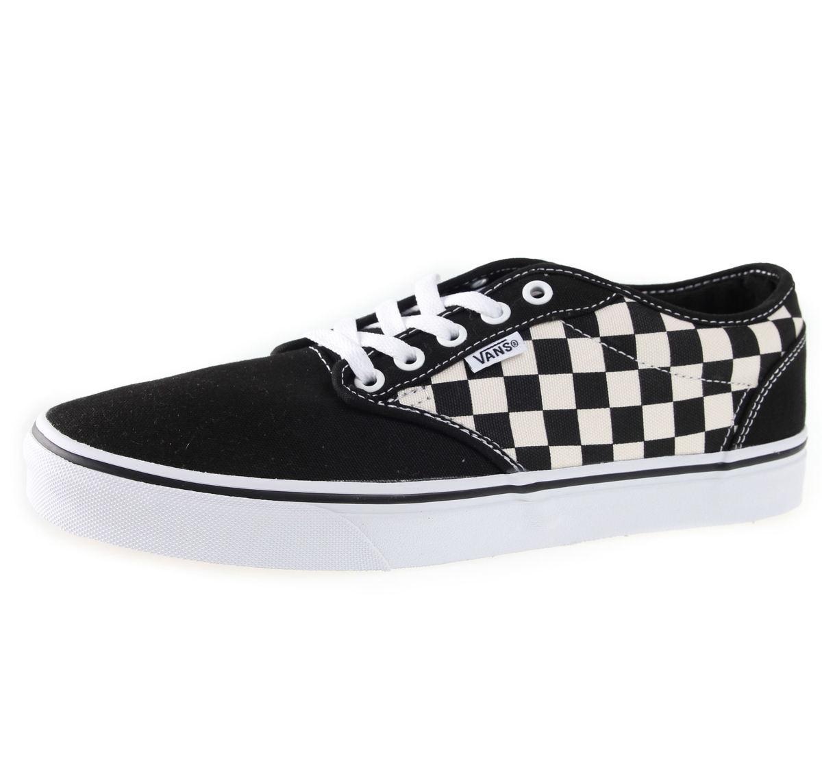 boty pánské VANS - Atwood (Checkers) - Black - V15GIPD