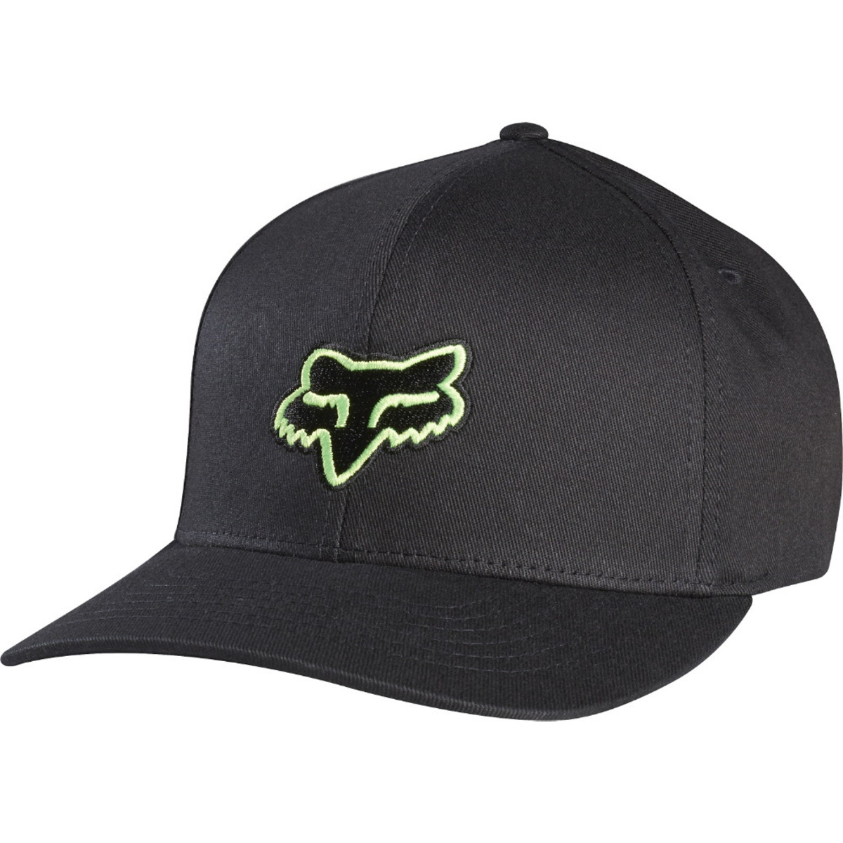 kšiltovka FOX - Legacy - Black/Green - 58225-151 XS/S