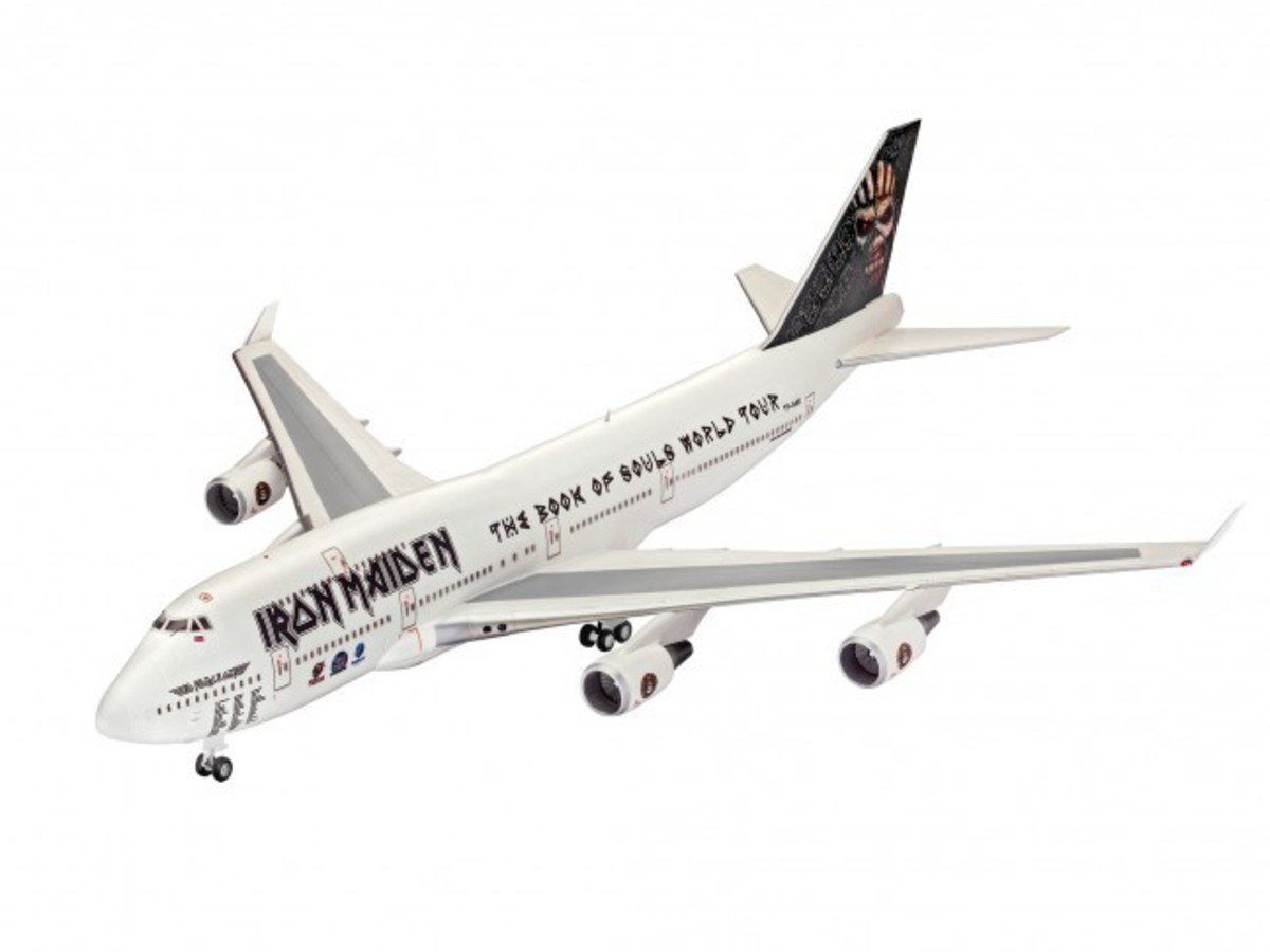 model Iron Maiden - Model Kit 1/144 Boeing 747-400 - REV04950