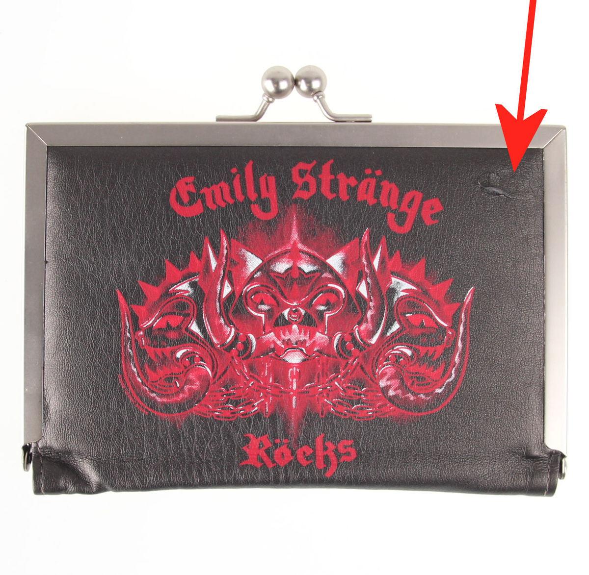peněženka EMILY THE STRANGE - Emily (E4081502) Kitty Head - POŠKOZENÁ - N572