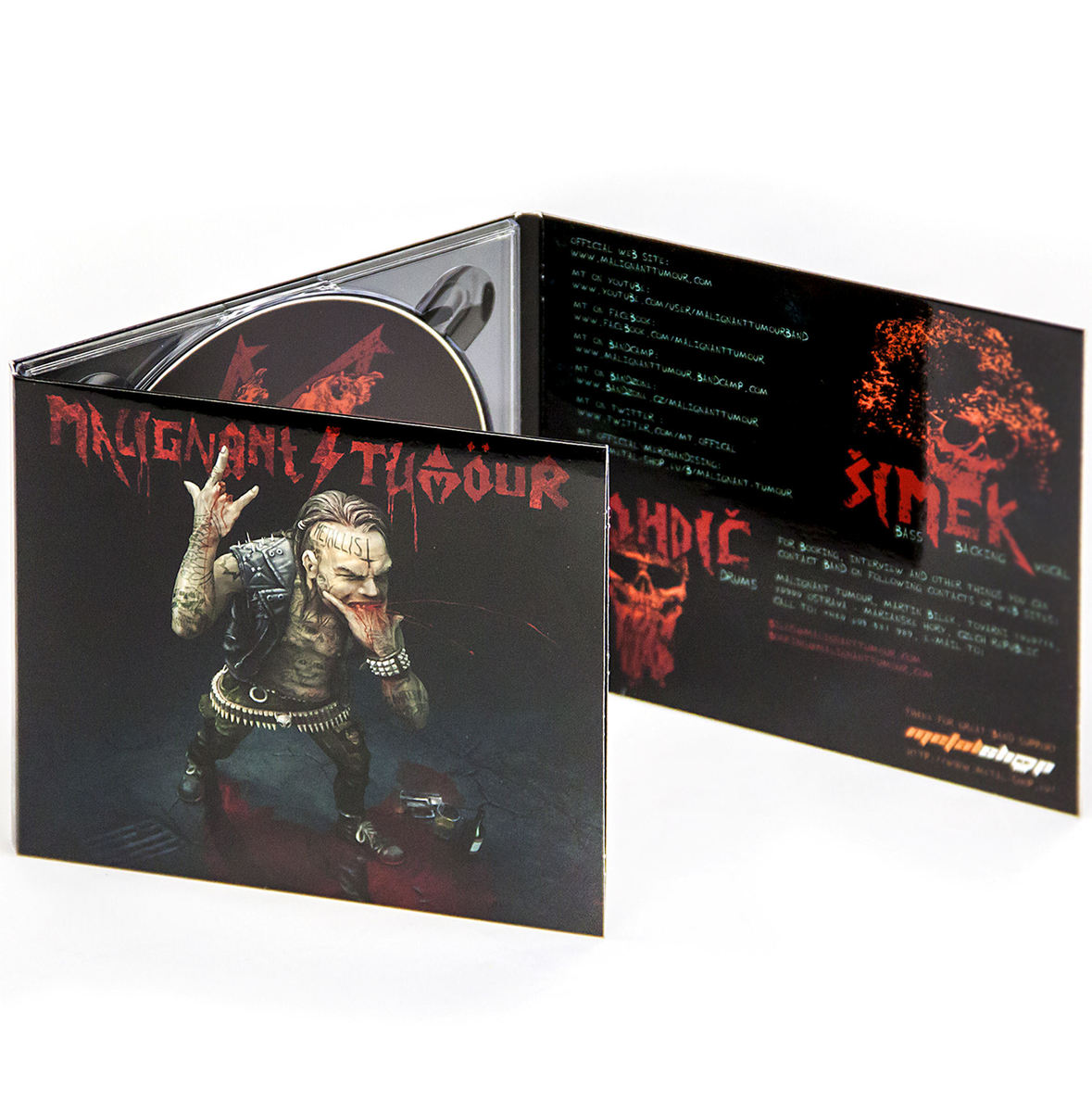 DIGIPACK CD Malignant Tumour - The Metallist - MT025