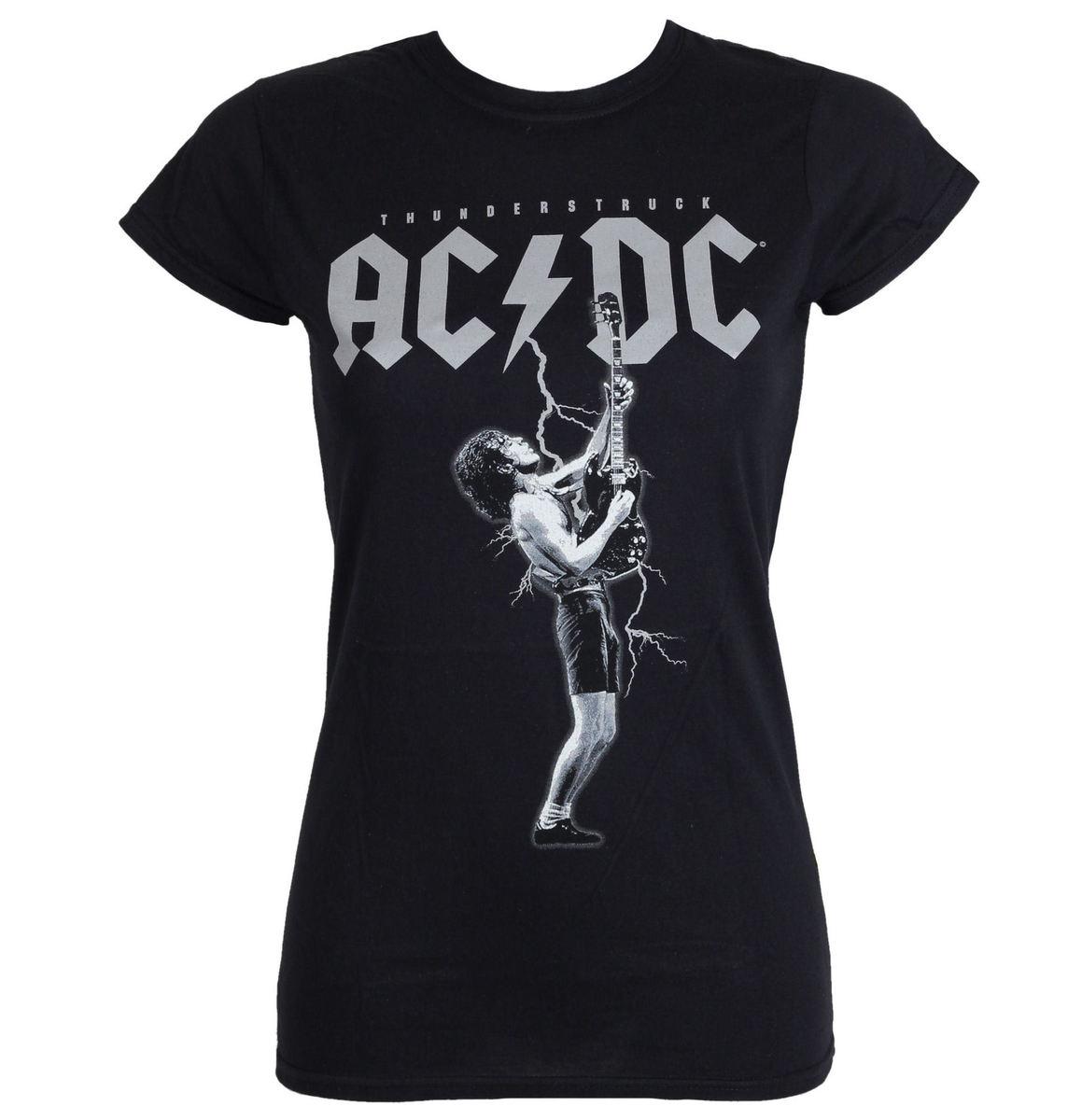 tričko dámské AC/DC - Thunderstruck - Black - LIVE NATION - PE13929SKBP