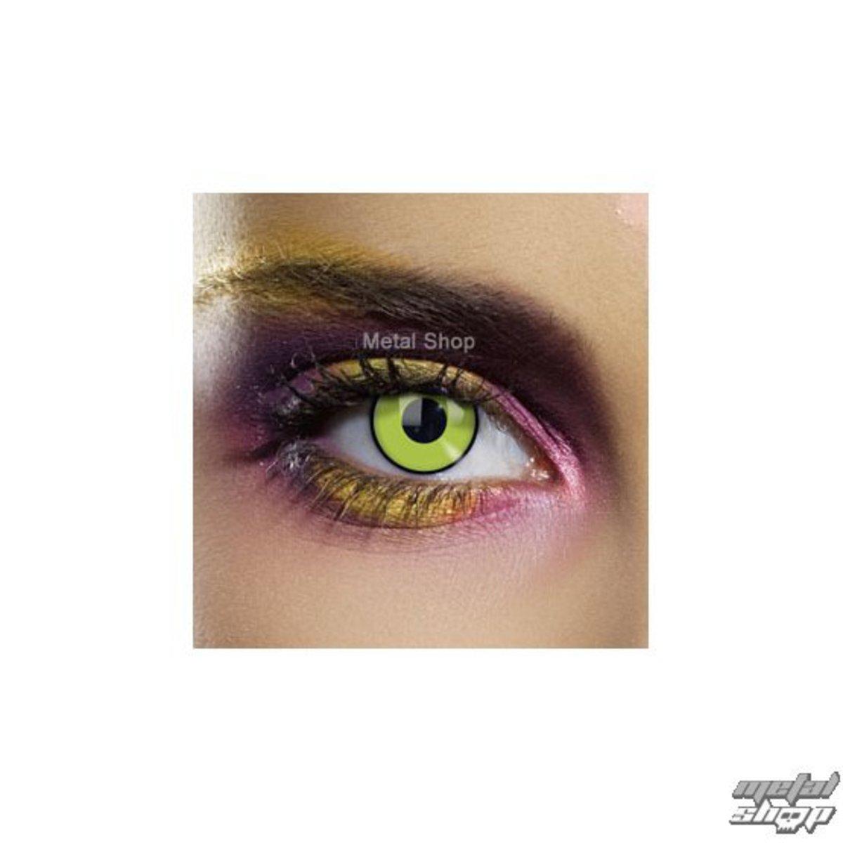 kontaktní čočka FRANKENSTEIN GREEN EYE - EDIT - N593
