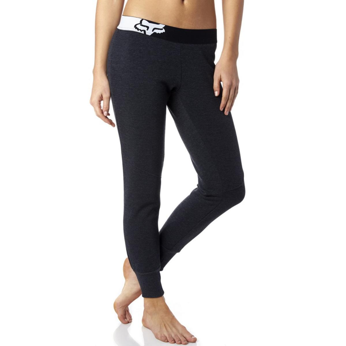 kalhoty dámské (tepláky) FOX - Certain Pant - Heather Black - 17554-243