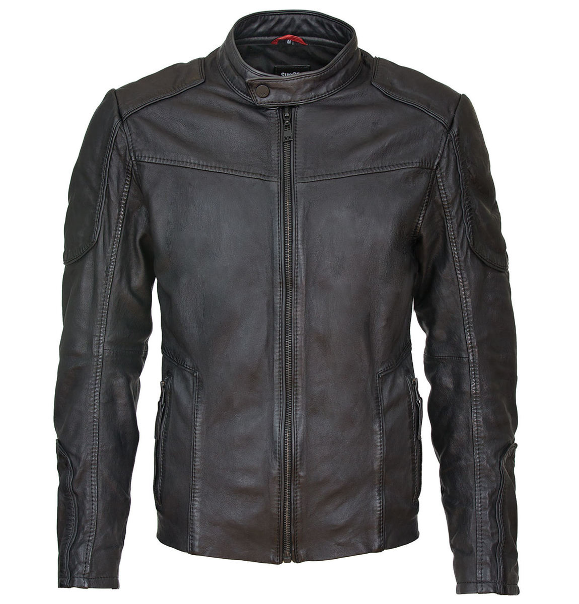 bunda pánská Suicide Squad Leather Jacket Deadshot Black - MRT-SQ-16-MSJ-02-BLK