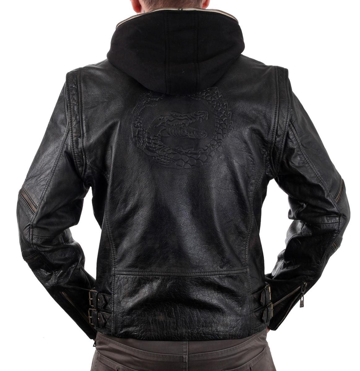 bunda pánská Suicide Squad Leather Jacket Killer Croc - MRT-SQ-16-MSJ-03