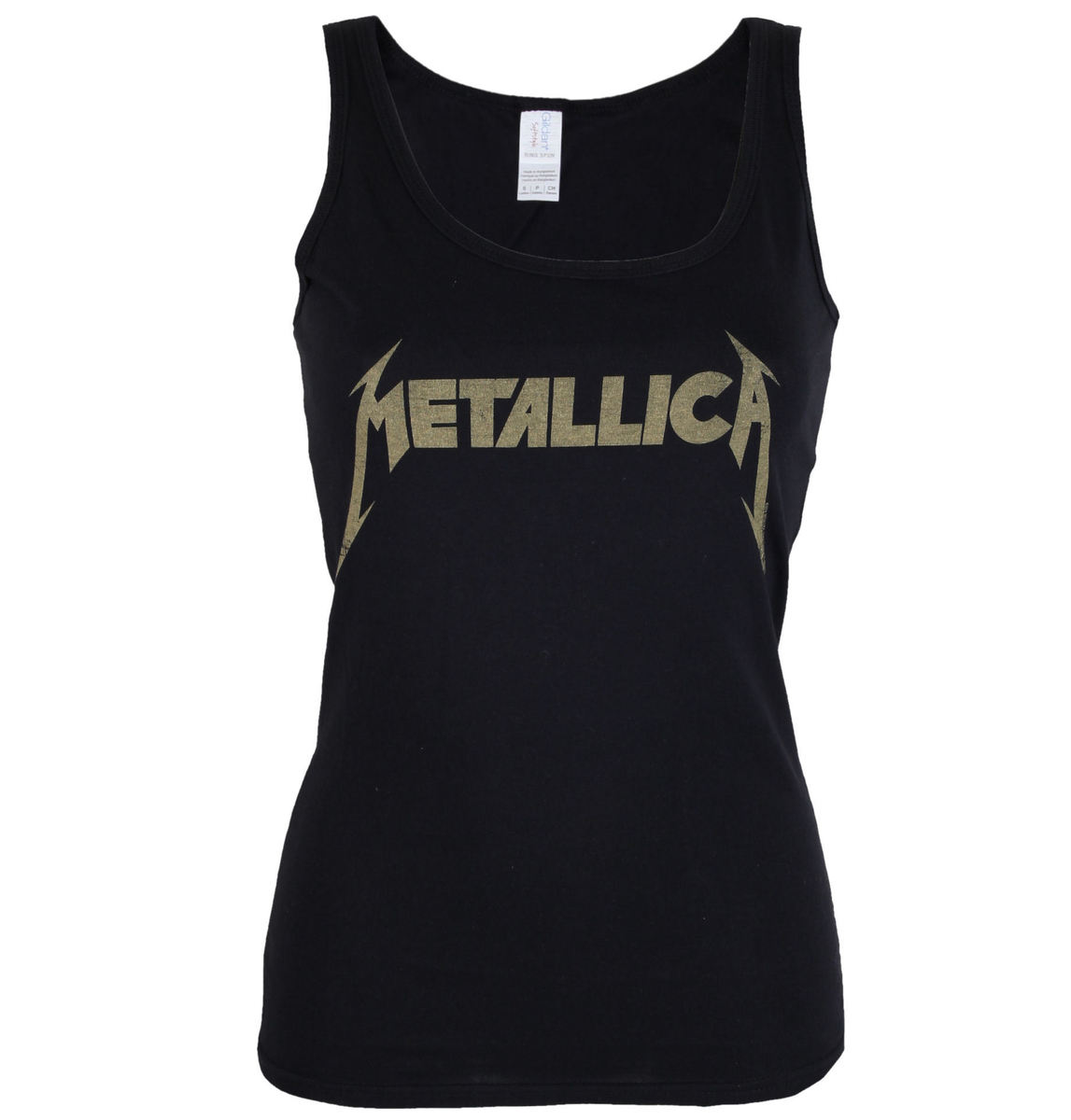tílko dámské Metallica - Hetfield Iron Cross Guitar - Black - RTMTLLVBHET