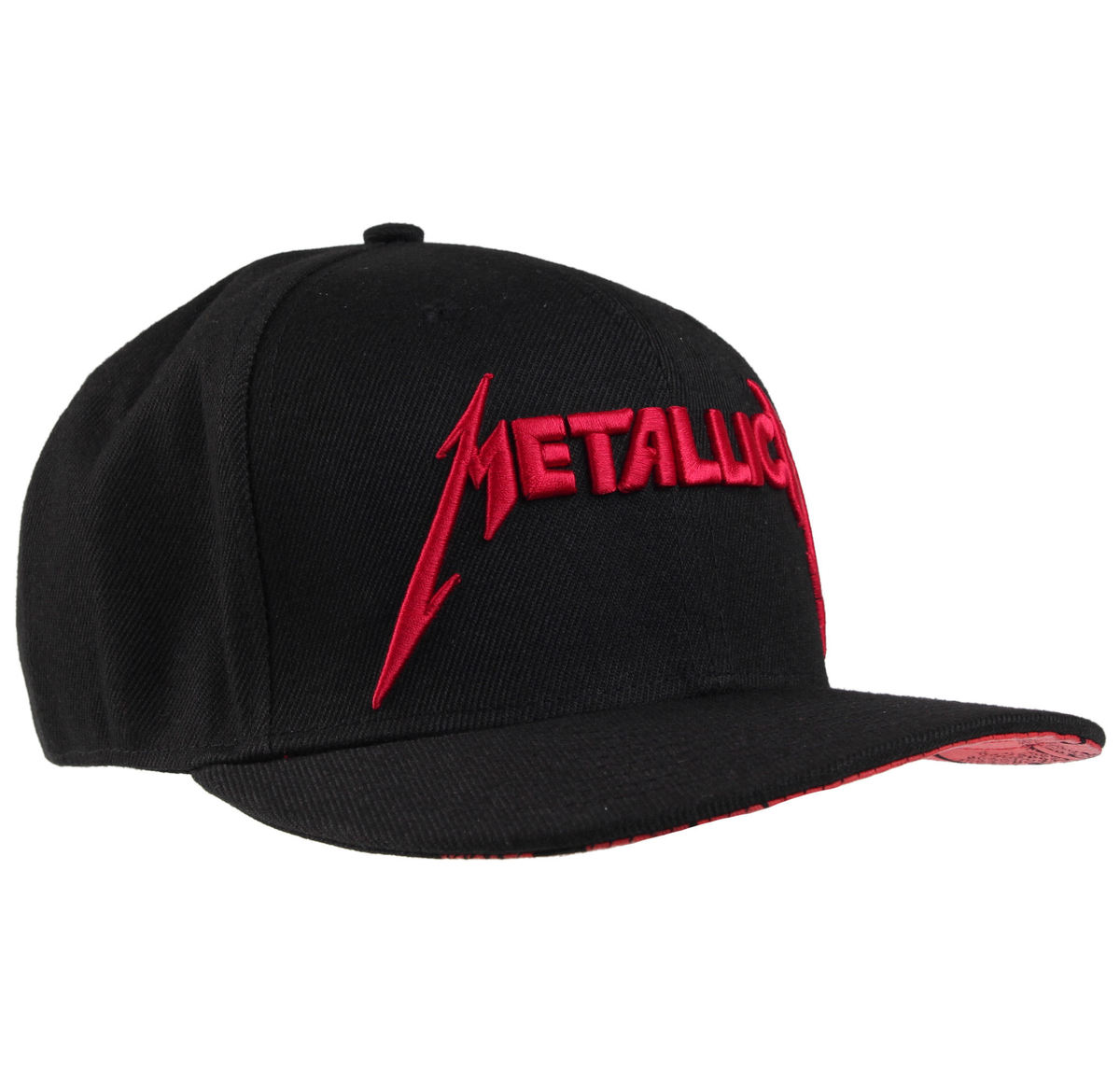 kšiltovka Metallica - Red Damage - Black - RTMTLSBCBINK