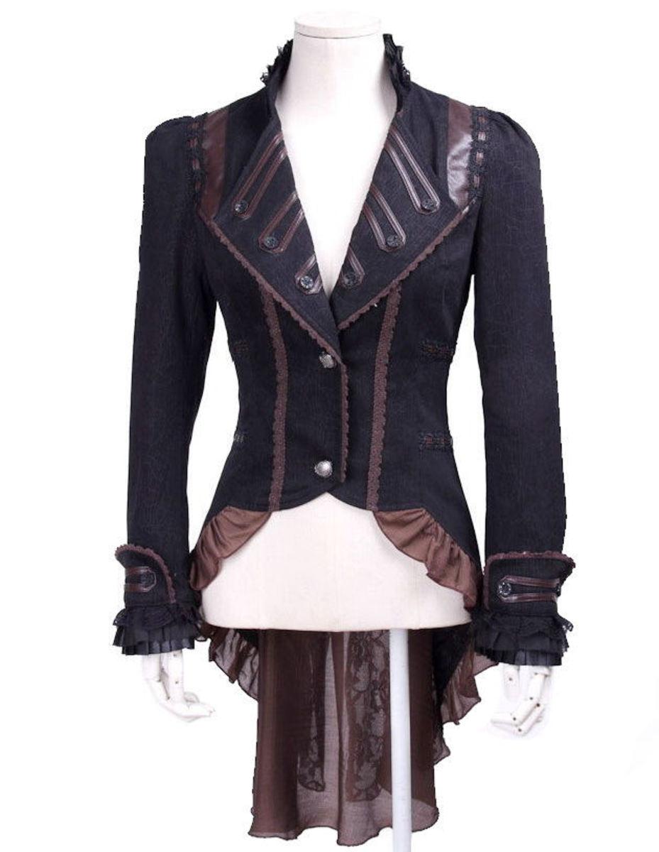 kabátek (sako) dámský PUNK RAVE