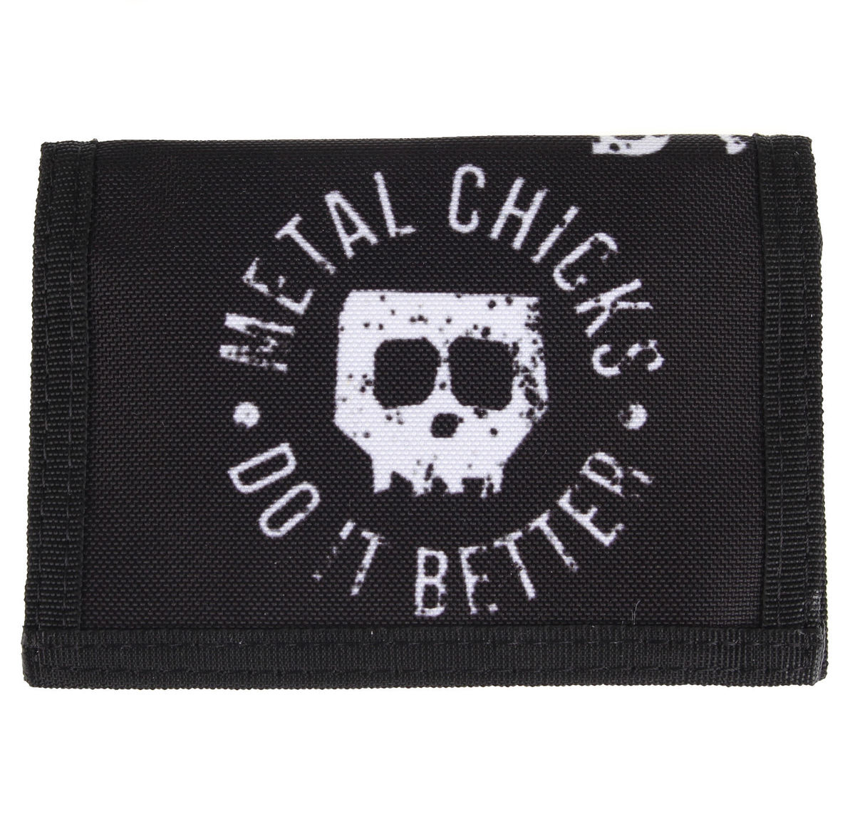peněženka METAL CHICKS DO IT BETTER - Skull - MCDIB001