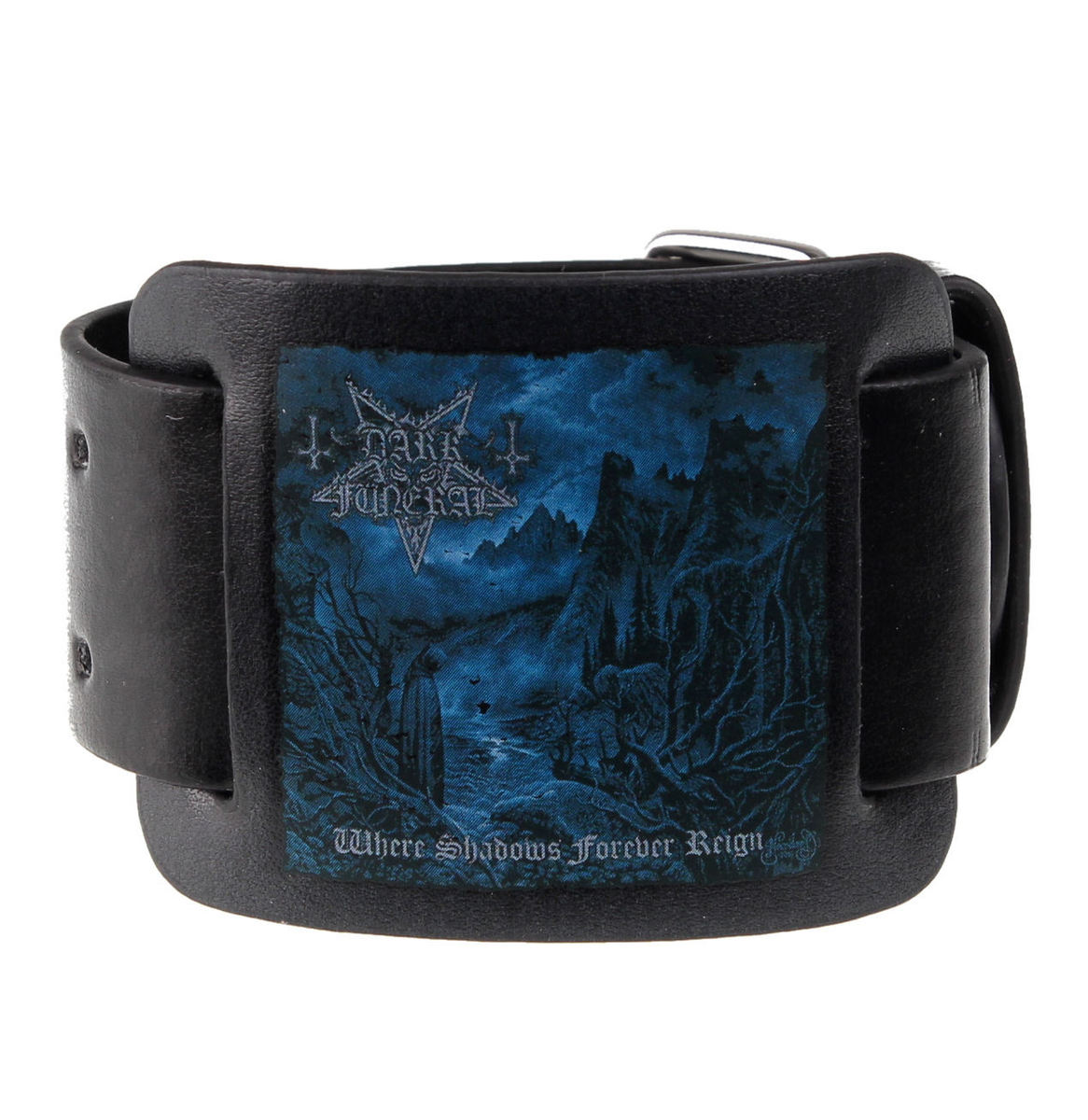 náramek Dark Funeral - WHERE SHADOWS FOREVER REIGN - RAZAMATAZ - LW042