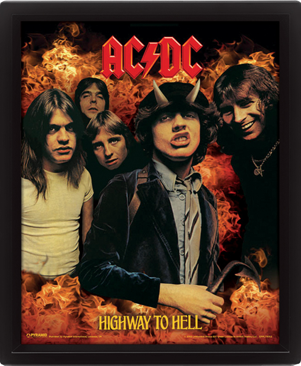 3D obraz ACDC - Highway to Hell - EPPL71052