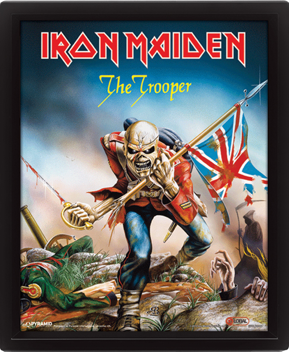 3D obraz Iron Maiden - The Trooper - EPPL71086