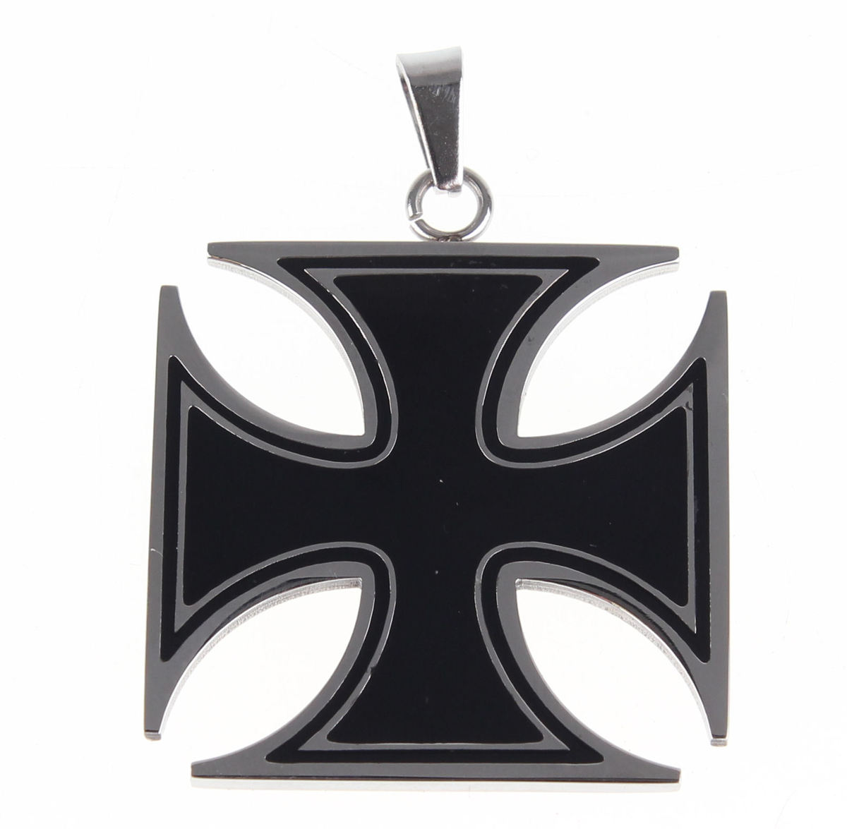 obojek ETNOX - Black Iron Cross - SK1125