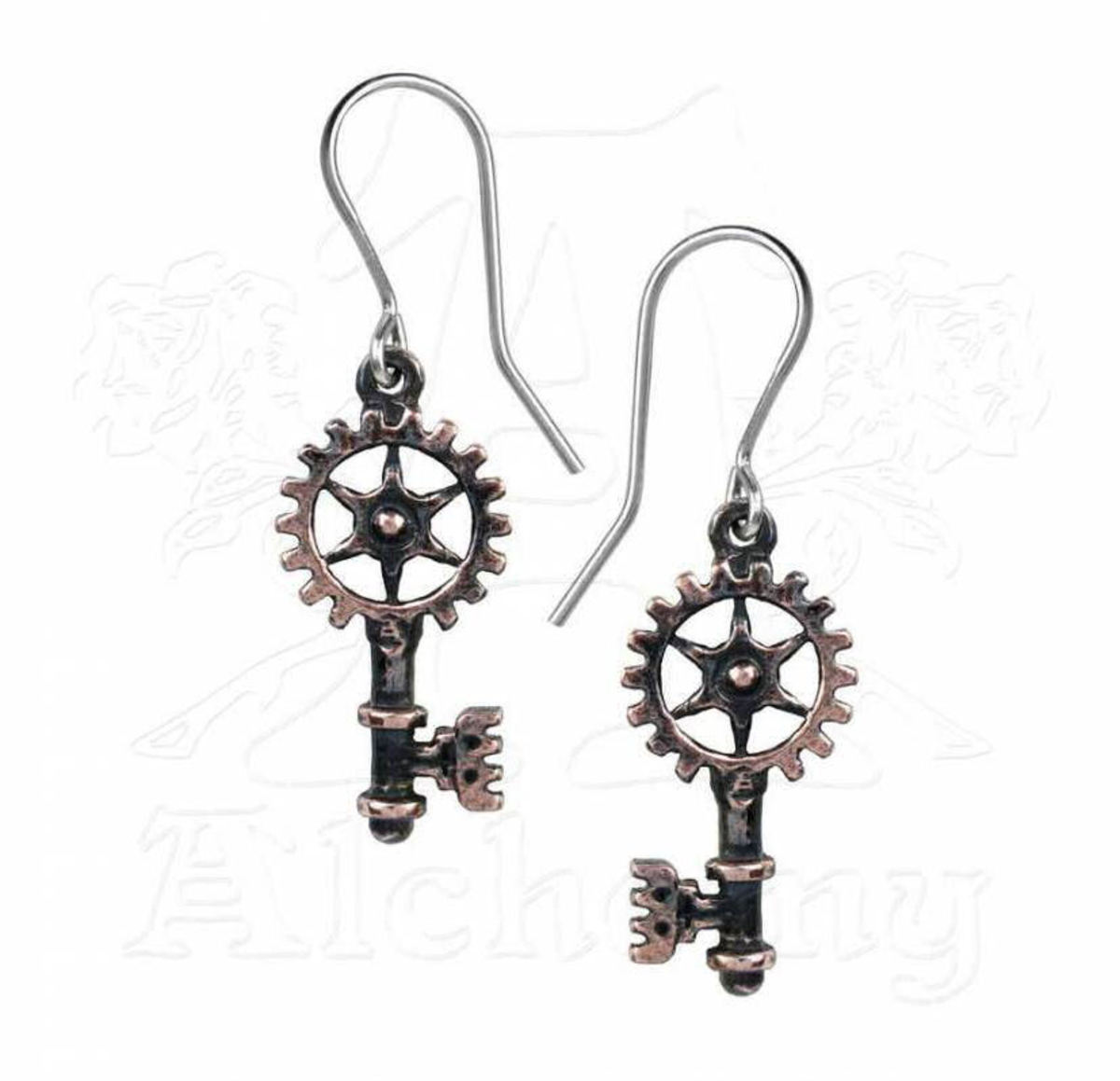 náušnice ALCHEMY GOTHIC - Clavitraction - E377