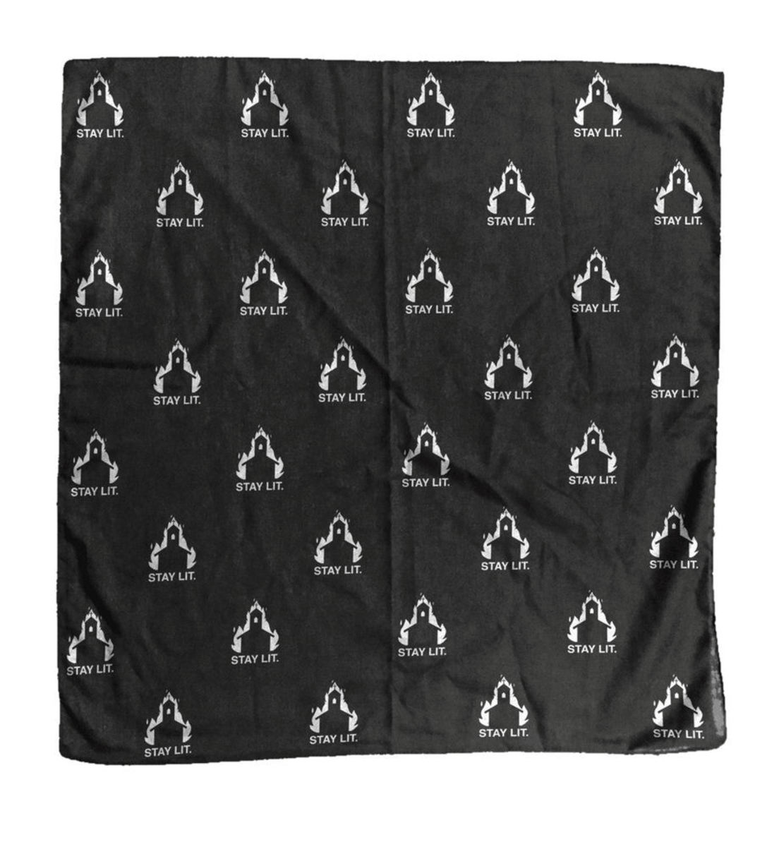 šátek BLACK CRAFT - Stay Lit Bandana - BD001SL
