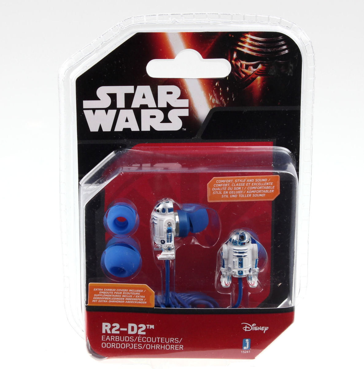 sluchátka Star Wars - R2-D2 - WhtBlue - JAZ15230(2)