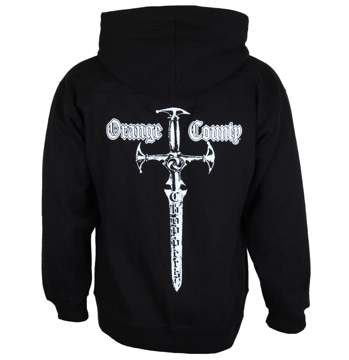mikina pánská ORANGE COUNTY CHOPPERS - Embr Front - Classic Sword - Black - OCCHDZ00102