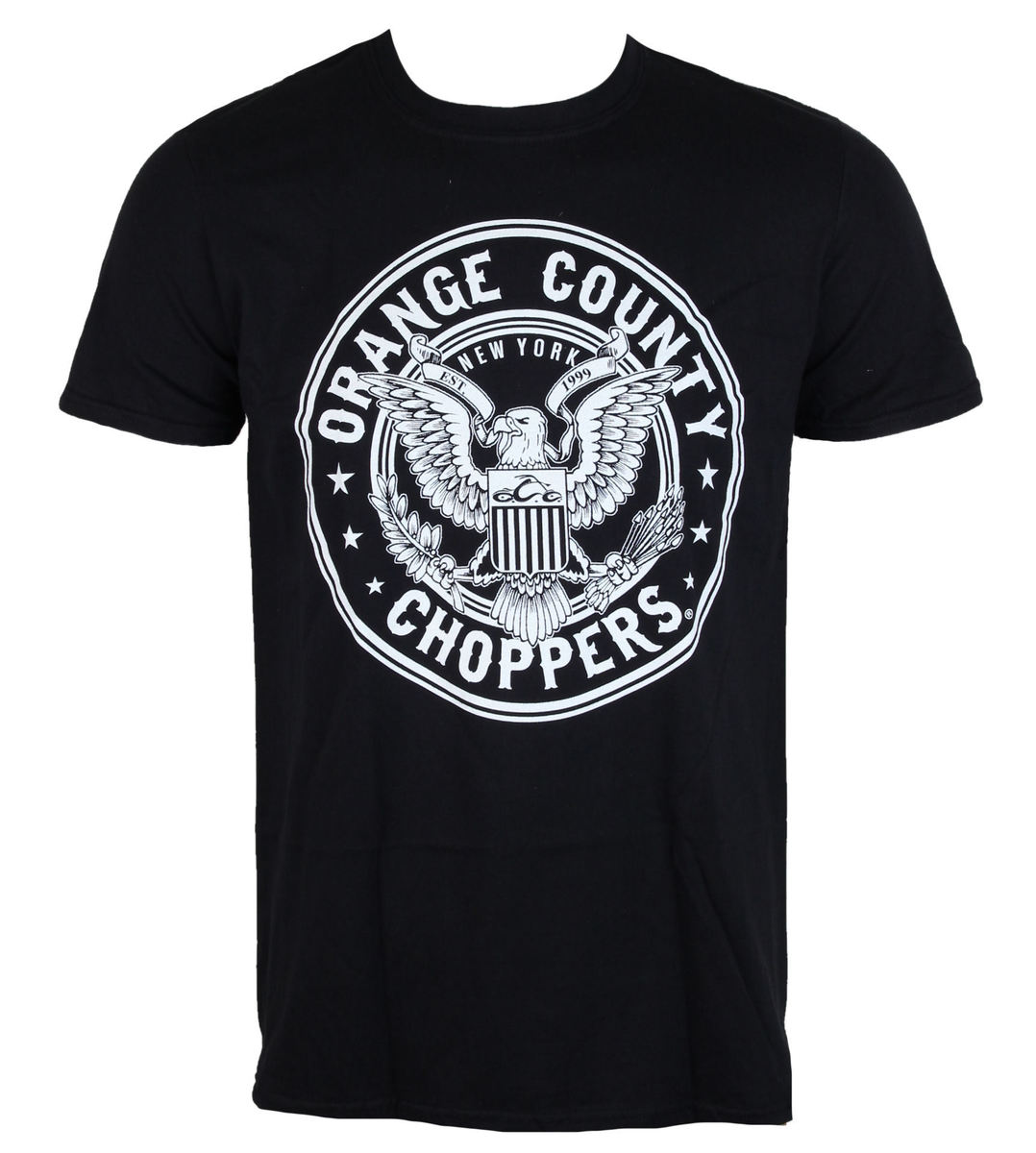 tričko pánské ORANGE COUNTY CHOPPERS - Eagle - Black - OCCTS01002