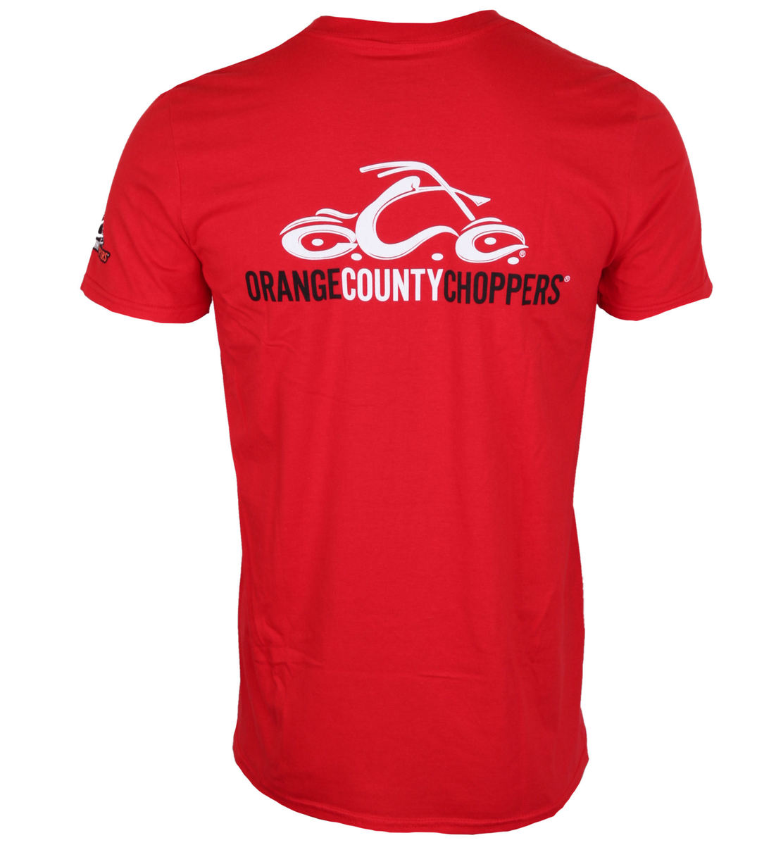tričko pánské ORANGE COUNTY CHOPPERS - Logo - Red - OCCTS02260