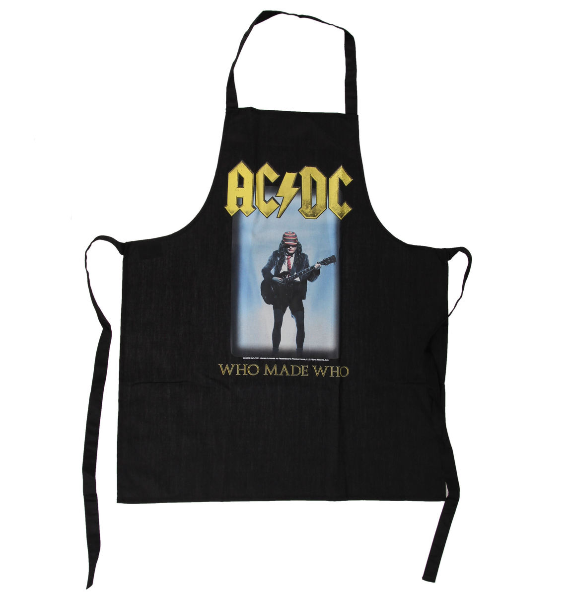 zástěra ACDC - Who Made Who Apron - LOW FREQUENCY - ACAP050015