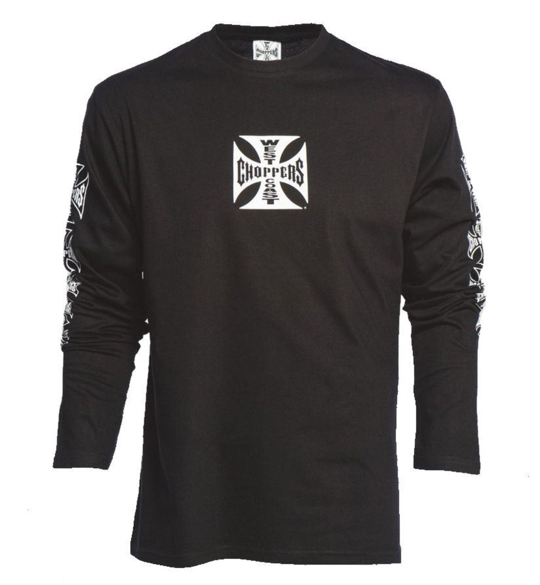 West Coast Choppers WCC OG CROSS LONG SLEEVE černá