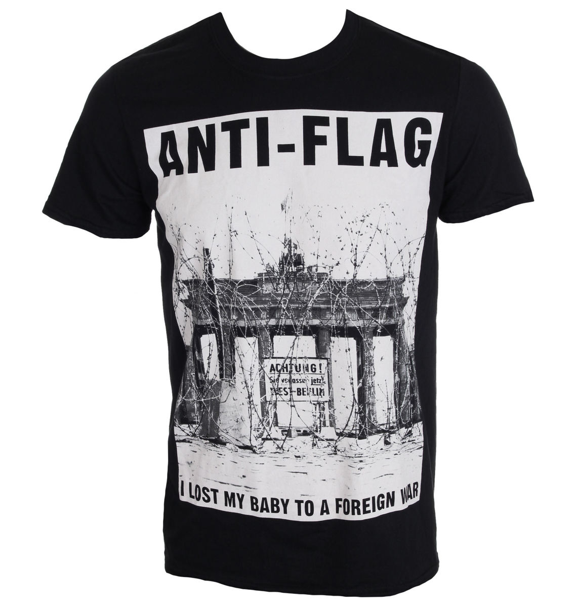 KINGS ROAD Anti Flag Brandenburg Gate černá