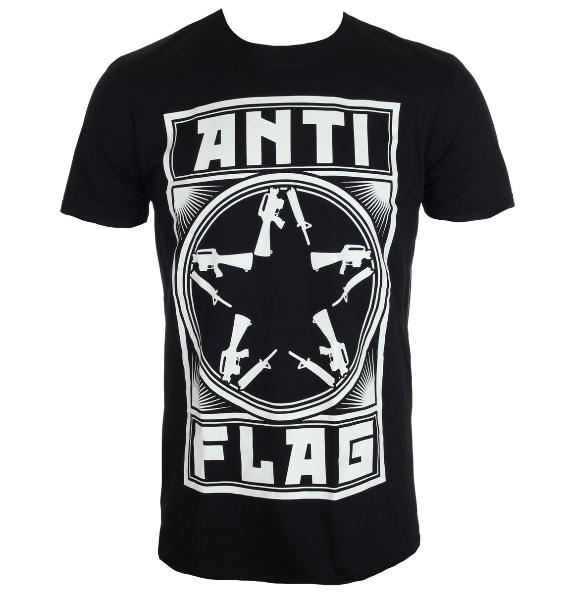KINGS ROAD Anti Flag New Gunstar černá