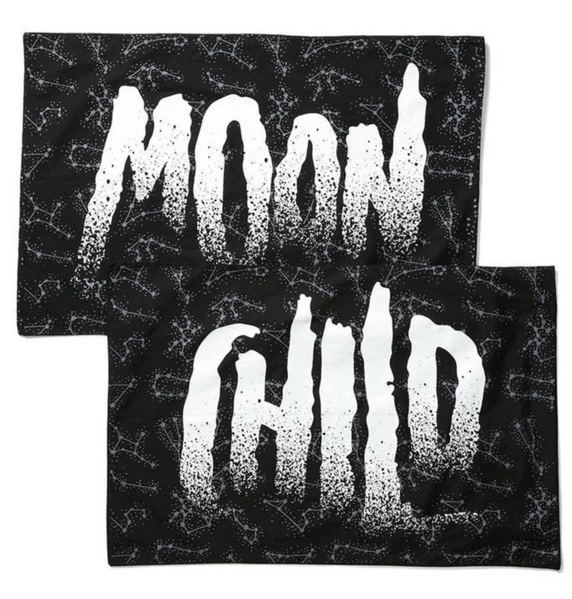 povlak na polštář KILLSTAR - Moon Child - Black - K-MIS-U-2341