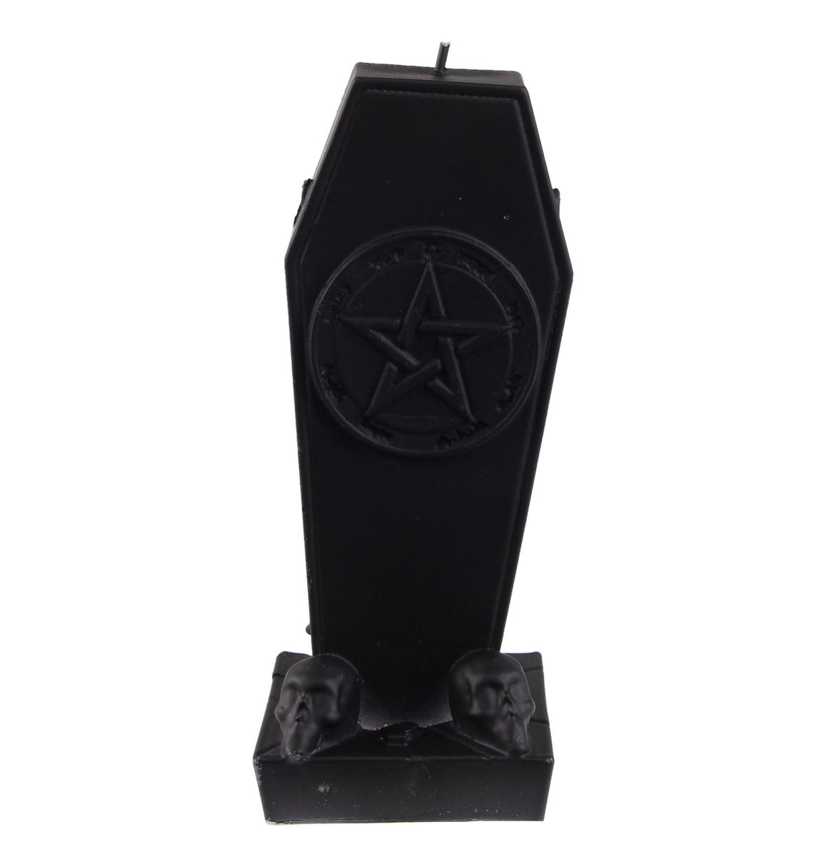 svíčka Coffin with Pentagram - Black Matt - YO023