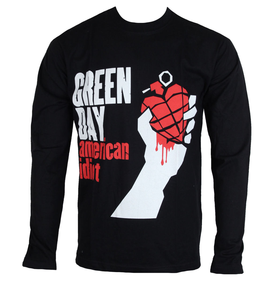 ROCK OFF Green Day American Idiot černá