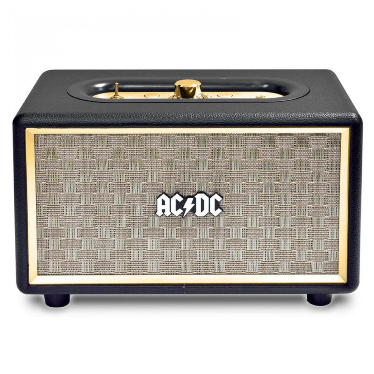 reproduktor AC/DC - CLASSIC CL2 VINTAGE PORTABLE BLUETOOTH SPEAKER - BLACK - ACDCL2