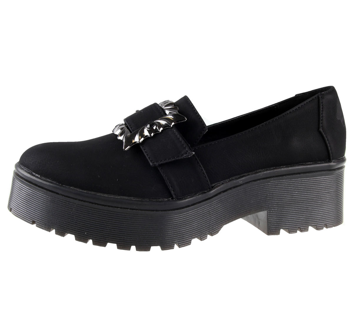 boty dámské IRON FIST - Nocturnal Cleated Sole Flat - IFW006008-BLACK 43