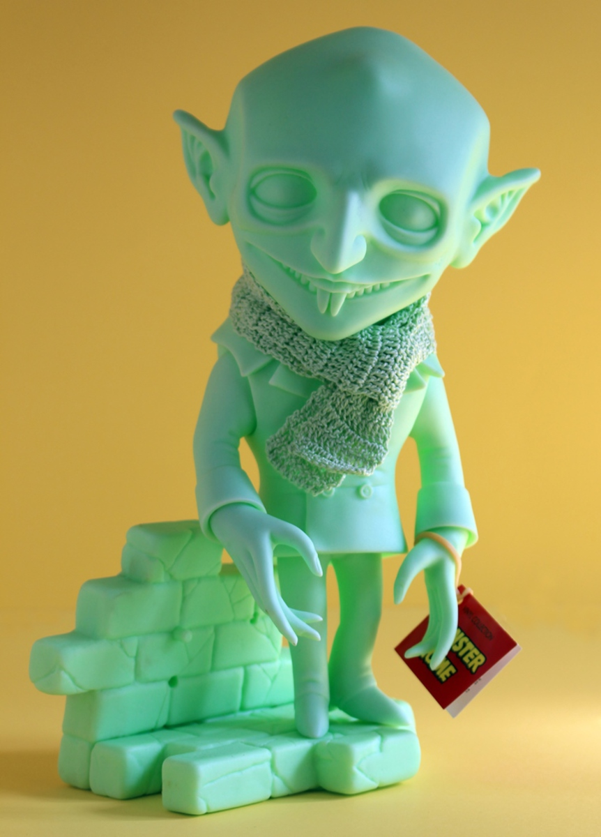 figurka Monster Home - Uncle Nosferatu All-Green - SDAMTMOHOM002