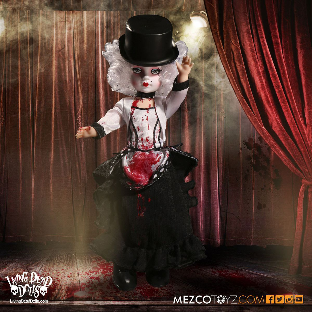 panenka Madame la morte - Living Dead Dolls - 93403