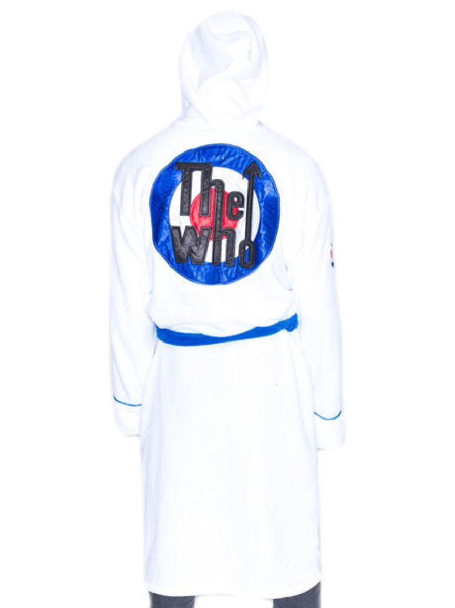 župan The Who - Logo - White/Blue - QUH001