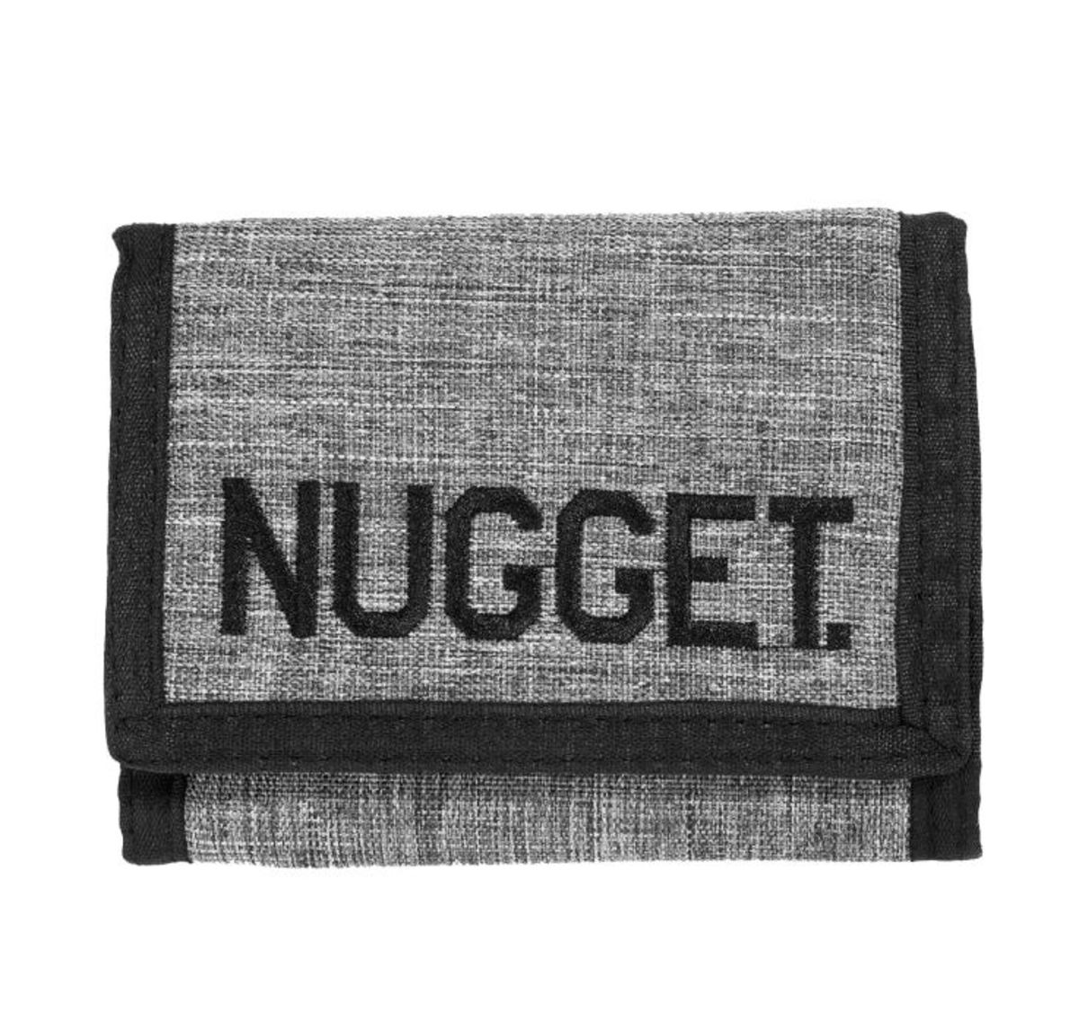 peněženka NUGGET - BREAKOUT - A - 12638 - Heather Grey Black - MEAT214