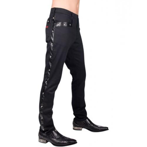 kalhoty pánské Aderlass - Rockstar Pants Denim (Black) - A-1-77-001-00