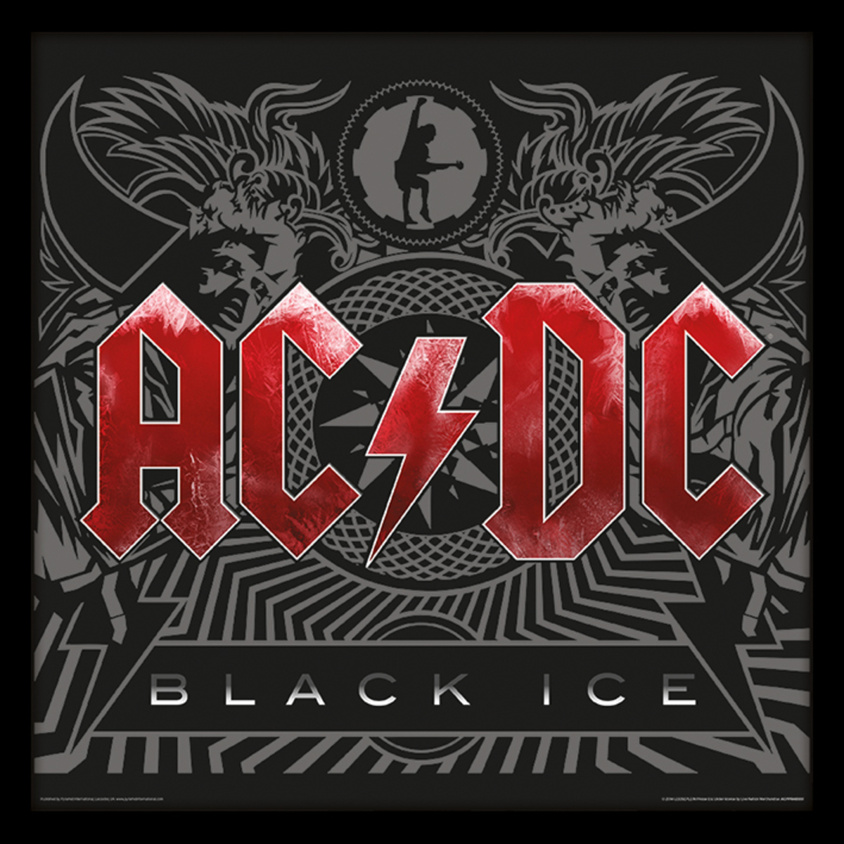 obraz ACDC - (Black Ice) - PYRAMID POSTERS - ACPPR48061