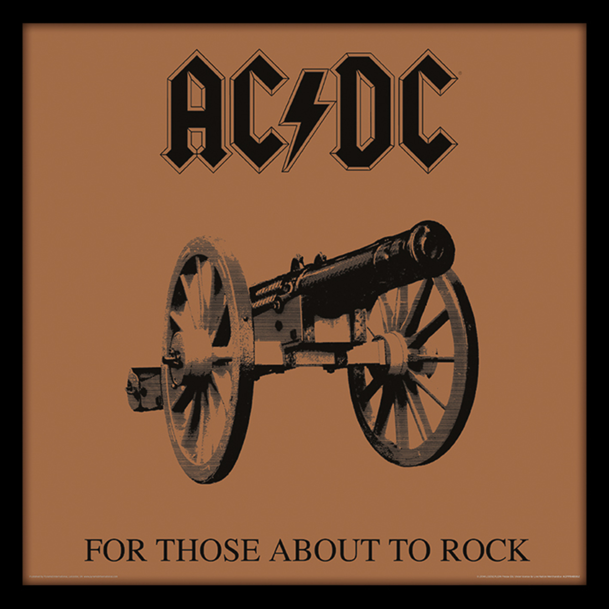 obraz ACDC - (For Those About To Rock) - PYRAMID POSTERS - ACPPR48062