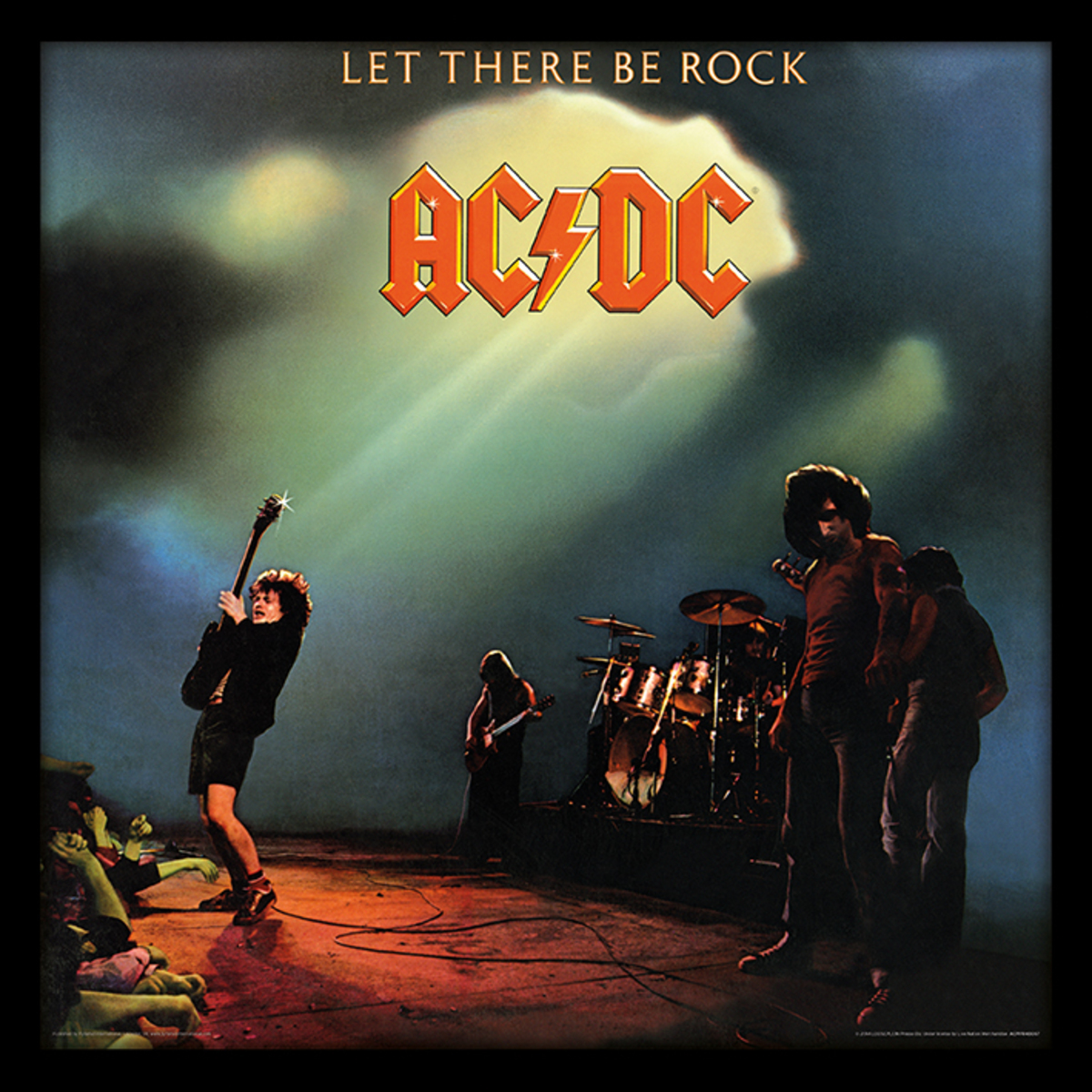 obraz ACDC - (Let There Be Rock) - PYRAMID POSTERS - ACPPR48067