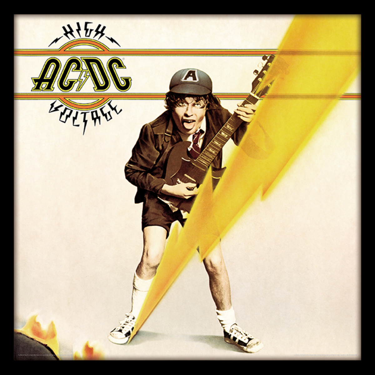 obraz ACDC - (High Voltage) - PYRAMID POSTERS - ACPPR48069