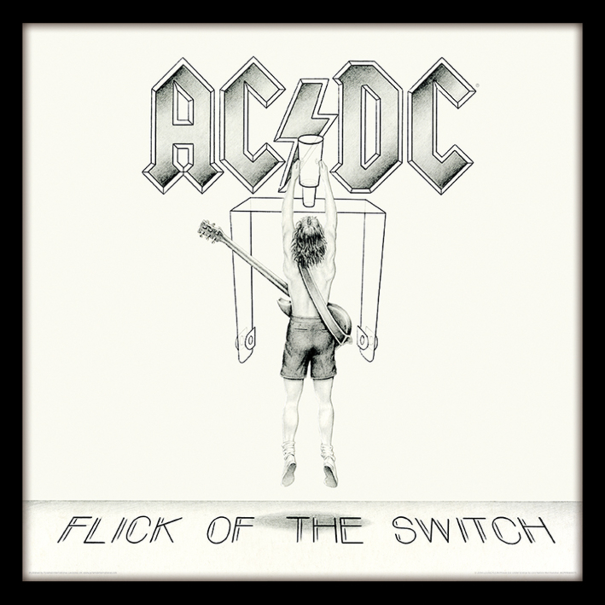 obraz ACDC - (Flick Of The Switch) - PYRAMID POSTERS - ACPPR48071