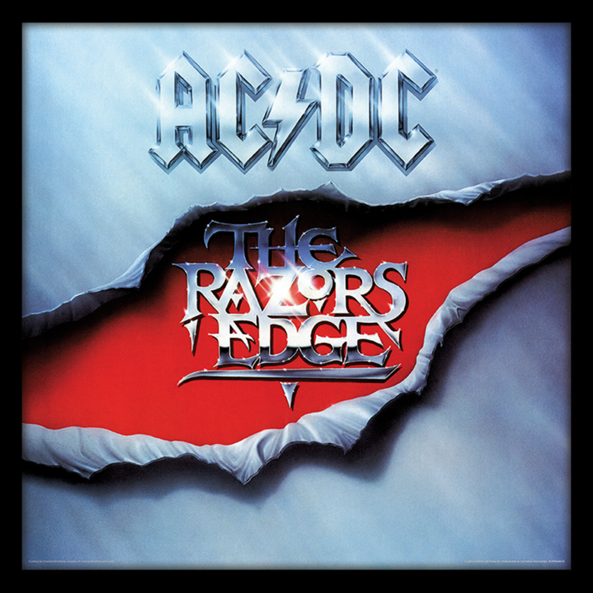 obraz ACDC - (The Razors Edge) - PYRAMID POSTERS - ACPPR48076