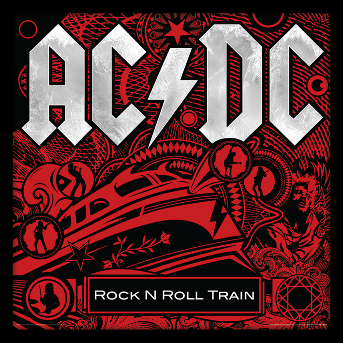 obraz ACDC - (Rock N Roll Train) - PYRAMID POSTERS - ACPPR48080