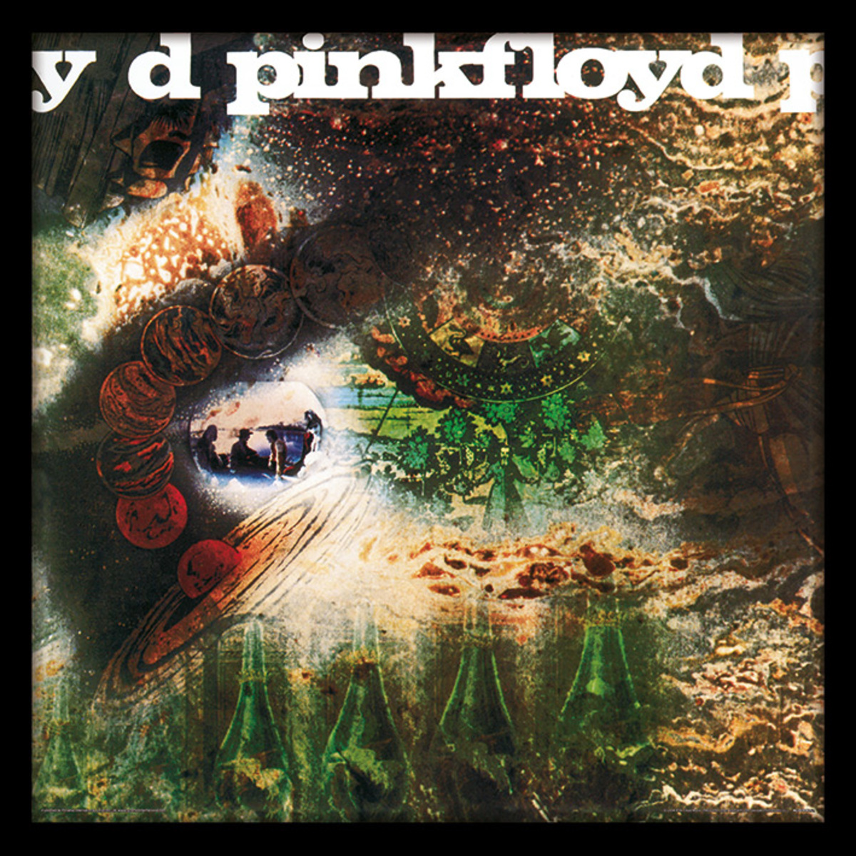 obraz Pink Floyd - (A Saucerful of Secrets) - PYRAMID POSTERS - ACPPR48121