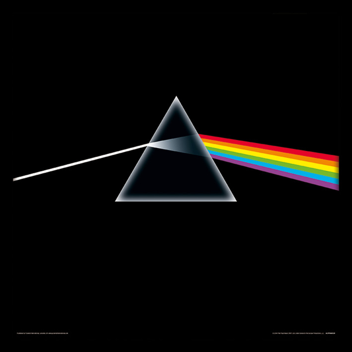 obraz Pink Floyd - (Dark Side Of The Moon) - PYRAMID POSTERS - ACPPR48139